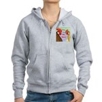 You N Me Babe! Women's Zip Hoodie