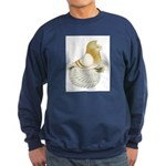English Trumpeter Cream Bar Sweatshirt (dark)