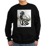 English Trumpeter Dark Splash Sweatshirt (dark)