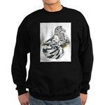 English Trumpeter Dun Splash Sweatshirt (dark)