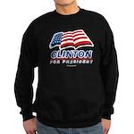 Clinton for President Sweatshirt (dark)