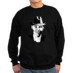 Cowboy Obama Sweatshirt (dark)