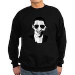 Barack Obama Sunglasses Sweatshirt (dark)