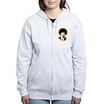 FROBAMA Women's Zip Hoodie