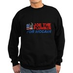 Joe the Plumber for McCain Sweatshirt (dark)