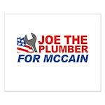 Joe the Plumber for McCain Small Poster