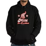 Mitt for President Hoodie (dark)