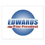 John Edwards for President Small Poster