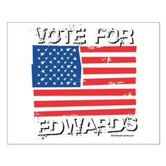 Vote for John Edwards Posters