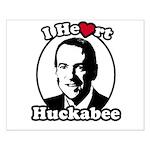 I Heart Huckabee Small Poster