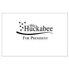 Mike Huckabee for Presdient Posters
