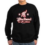 Giuliani for President Sweatshirt (dark)