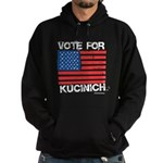 Vote for Kucinich Hoodie (dark)