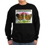 Golden Wyandottes Sweatshirt (dark)