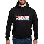 Ron Paul for President Hoodie (dark)
