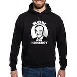 Ron Paul is my homeboy Hoodie (dark)