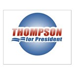 Thompson for President Small Poster