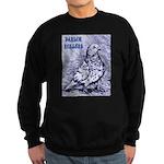 Parlor Roller Pigeon Sweatshirt (dark)
