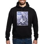 Parlor Roller Pigeon Hoodie (dark)