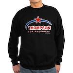 Thompson for President Sweatshirt (dark)