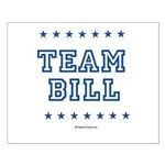 Team Bill Small Poster