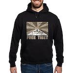Free Tibet Hoodie (dark)