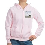 Polish Shortface Pigeon Women's Zip Hoodie