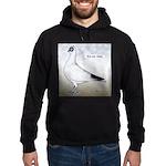 Polish Shortface Pigeon Hoodie (dark)