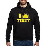 I Love Tibet Hoodie (dark)