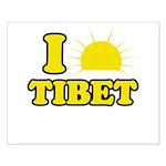 I Love Tibet Small Poster