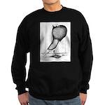 Thuringer Pouter Pigeon Sweatshirt (dark)