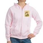 Tumbler CL Barred Pigeon Women's Zip Hoodie