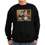 Domestic Flight Pigeons Sweatshirt (dark)