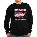 Gingrich for President Sweatshirt (dark)