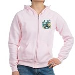 Rock Doves Women's Zip Hoodie