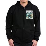 Rock Doves Zip Hoodie (dark)