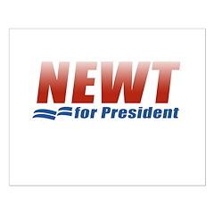 Newt for President Posters