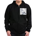 American Show Racer Zip Hoodie (dark)