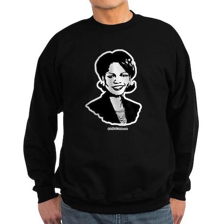 Condi Rice Face Sweatshirt (dark)