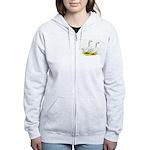 Embden Geese Women's Zip Hoodie