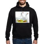 Embden Geese Hoodie (dark)