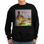 We Love Pheasants! Sweatshirt (dark)
