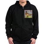 We Love Pheasants! Zip Hoodie (dark)