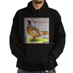 We Love Pheasants! Hoodie (dark)