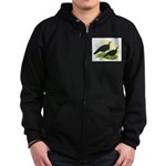 Black Turkeys Zip Hoodie (dark)