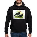 Black Turkeys Hoodie (dark)