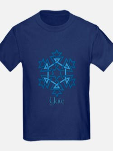 Blue Snowflake T