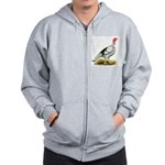 Royal Palm Hen Turkey Zip Hoodie