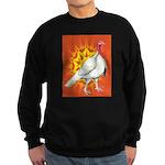 Sunburst White Turkey Sweatshirt (dark)