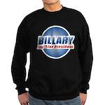 Billary for President Sweatshirt (dark)